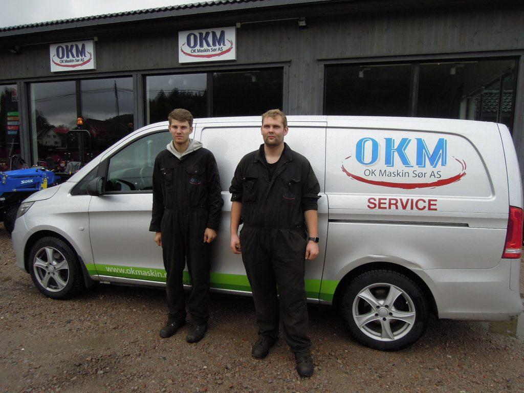 service-okmaskin